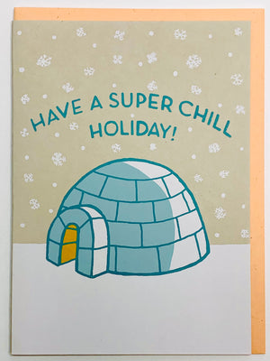 Super Chill Holiday Card