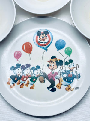 Micky Mouse Club Plate Set