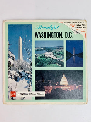 Washington D.C. Viewmaster Set