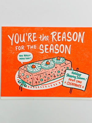You're The Reason Card