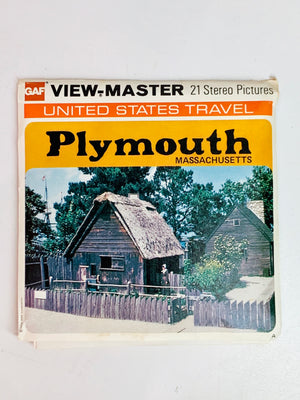 Plymouth Massachusetts Viewmaster Set