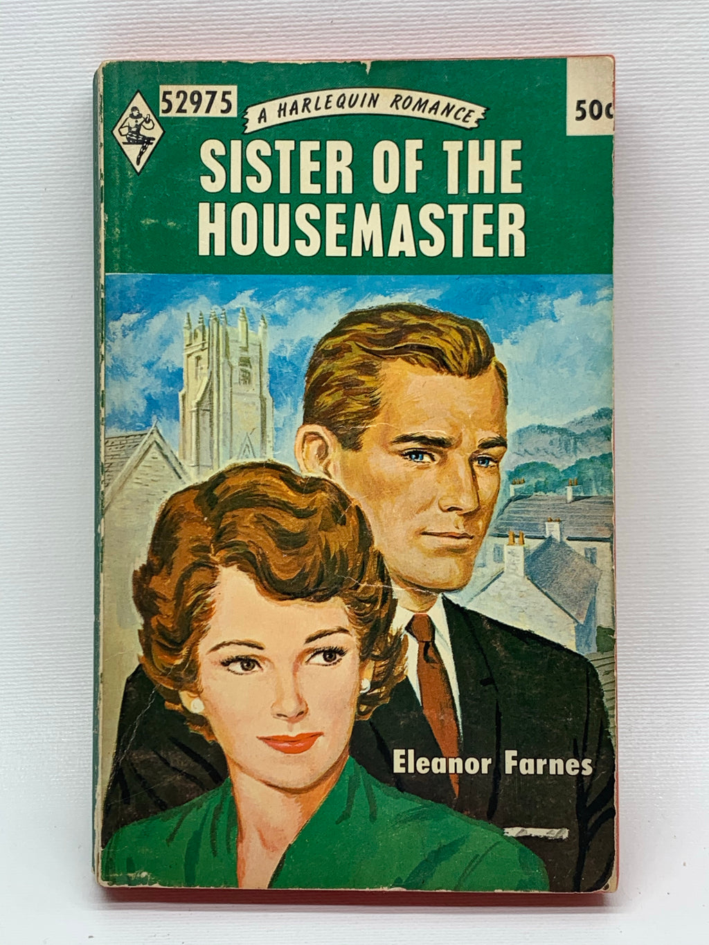 Sister of The Housemaster Vintage Romance Paperback