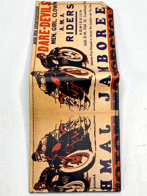 Dare-Devils Handmade Leather Wallet