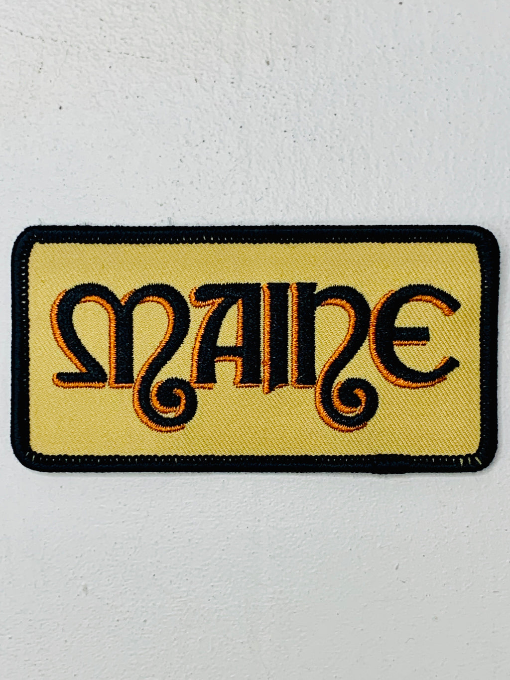 Maine Sabbath Embroidered Patch