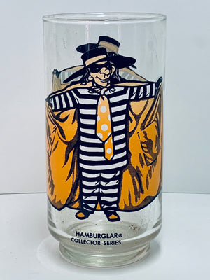McDonalds Hamburglar Glass