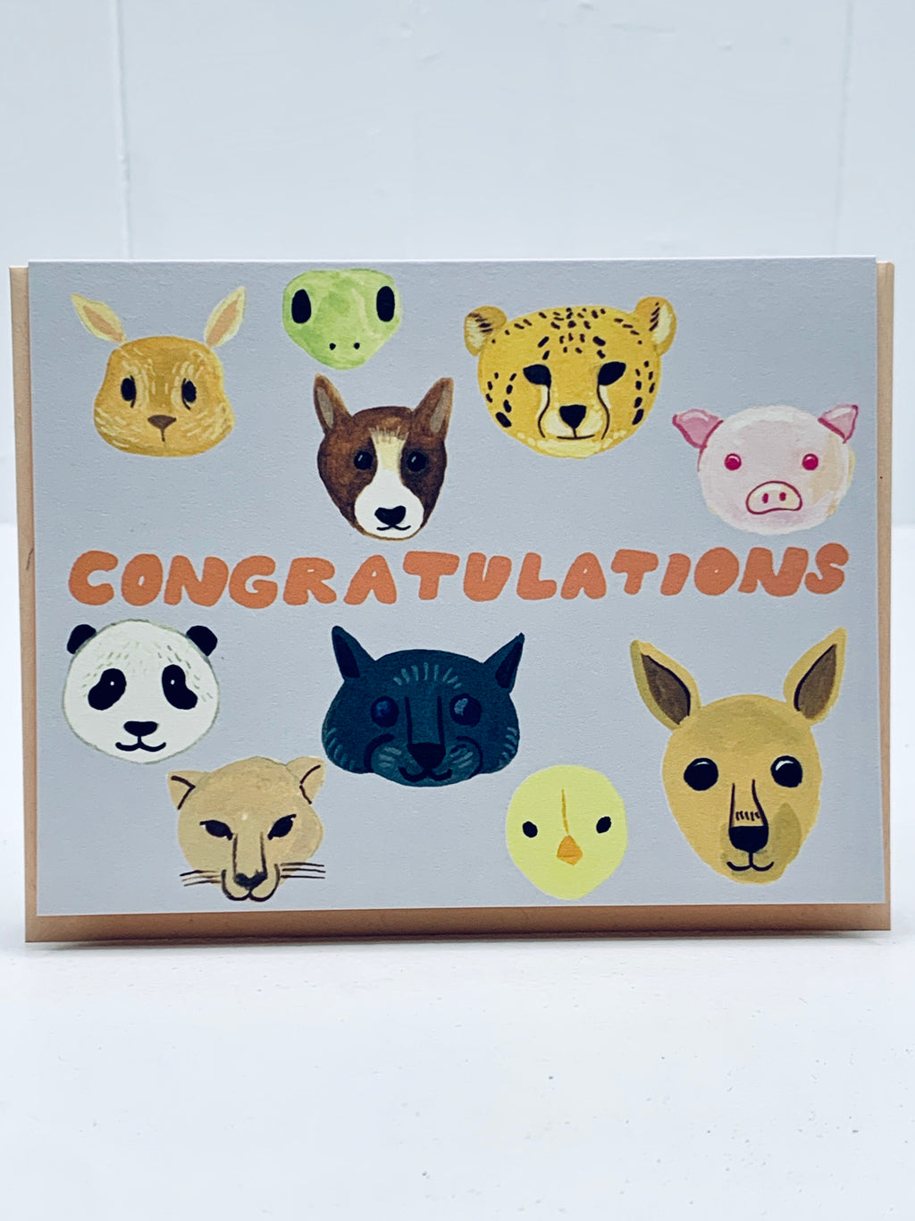 Animal Congratulations Card