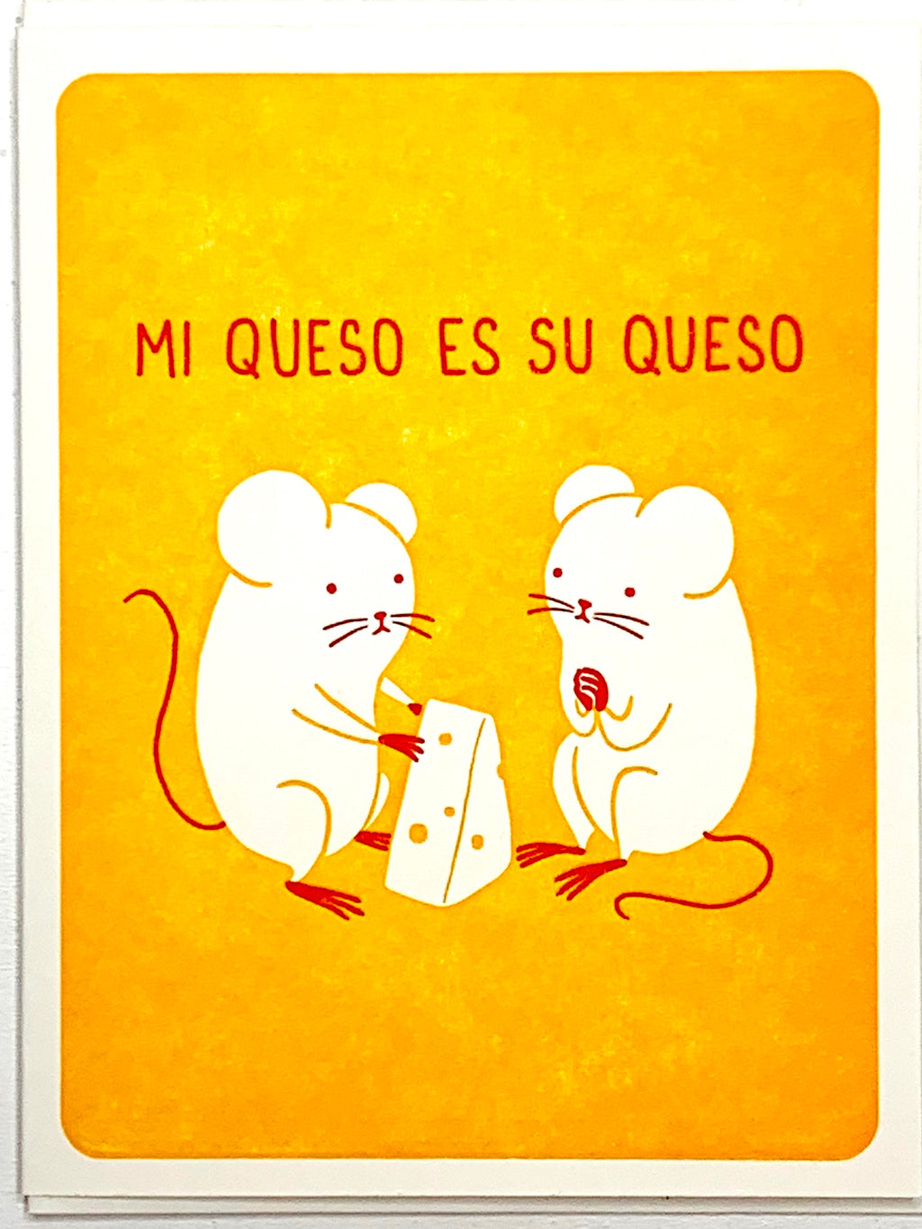 Queso Mouse Card