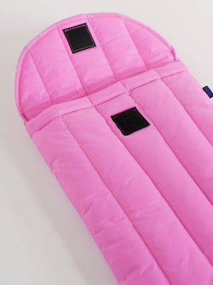 Pink Puffy Laptop Sleeve