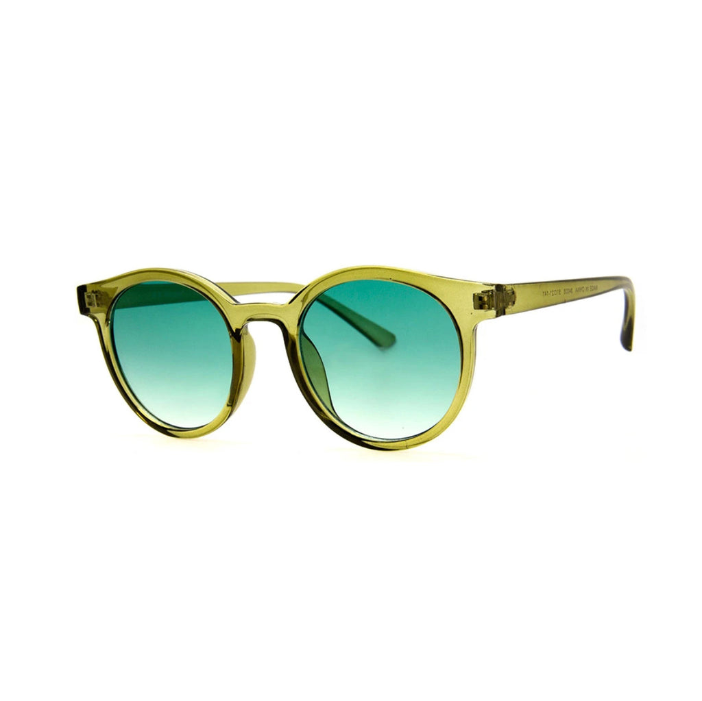Low Key Olive Green Sunglasses