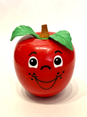 Happy Apple Poly Chime Toy