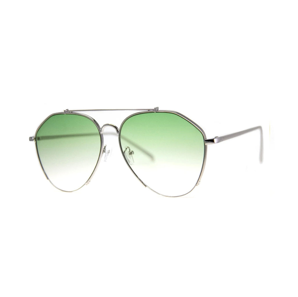 Mastermind Green Sunglasses