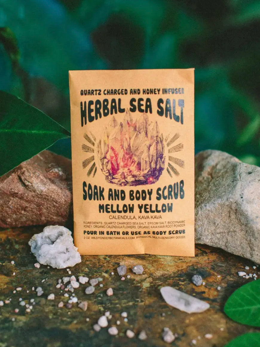 Mellow Yellow Herbal Bath Soak