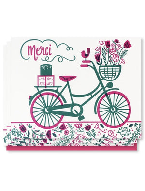 Merci Bike Card Box Set