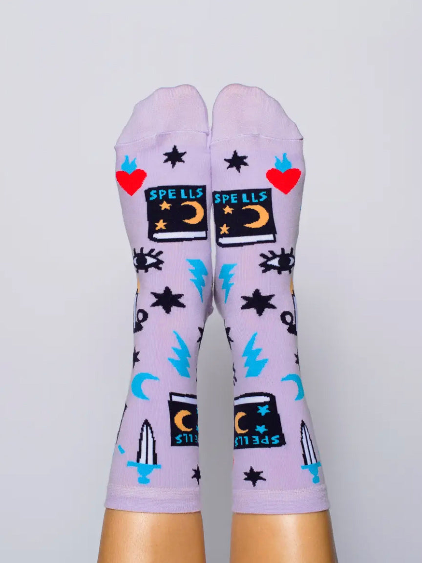 Ladies Mystic Spells Socks