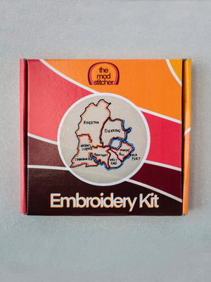 Portland Neighborhoods Embroidery Kit