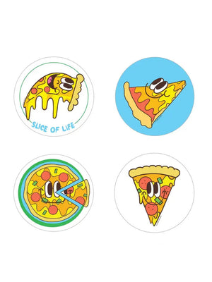 Pizza Scratch and Sniff Sticker Set