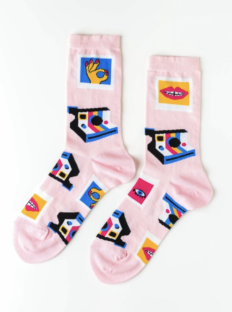 Ladies Selfie Socks