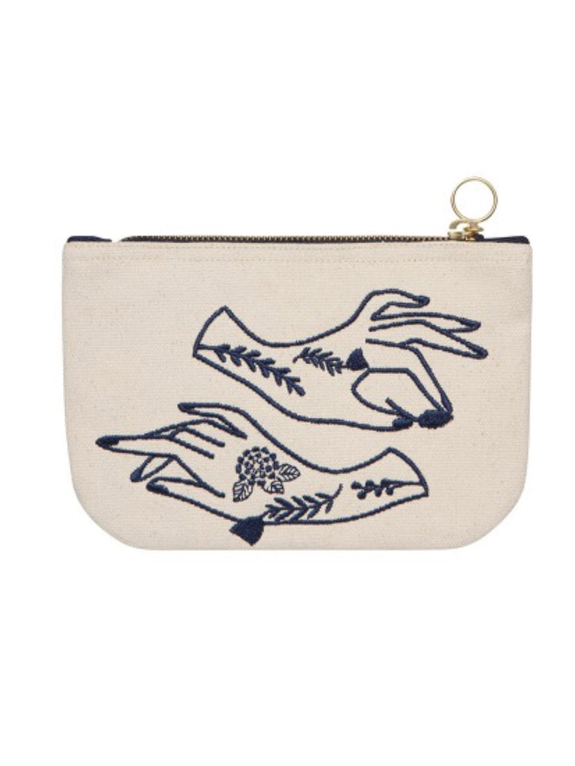 Show Of Hands Small Zipper Pouch