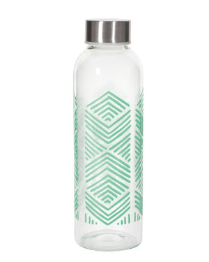 Sustain Mint Glass Water Bottle