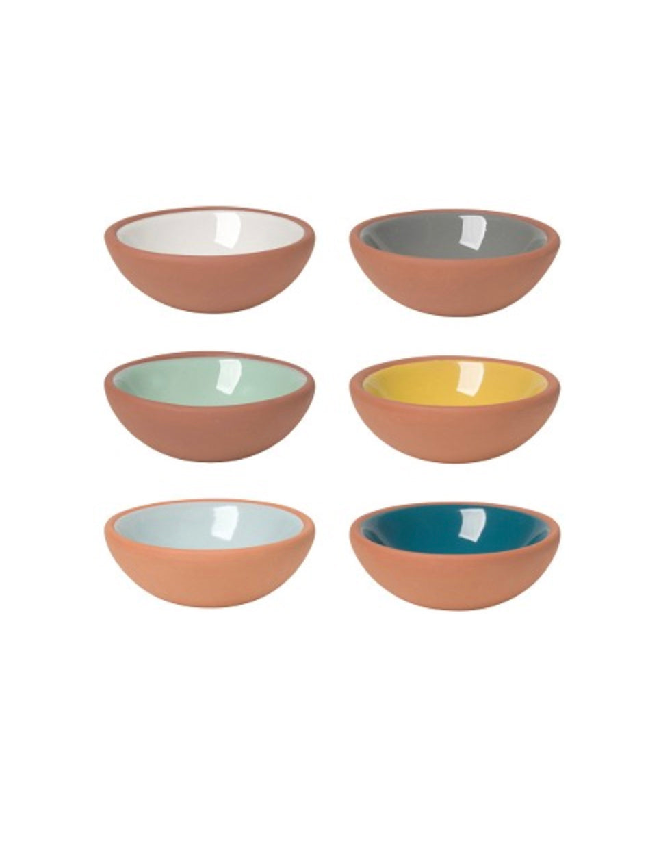 Terracotta Pinch Bowl Set