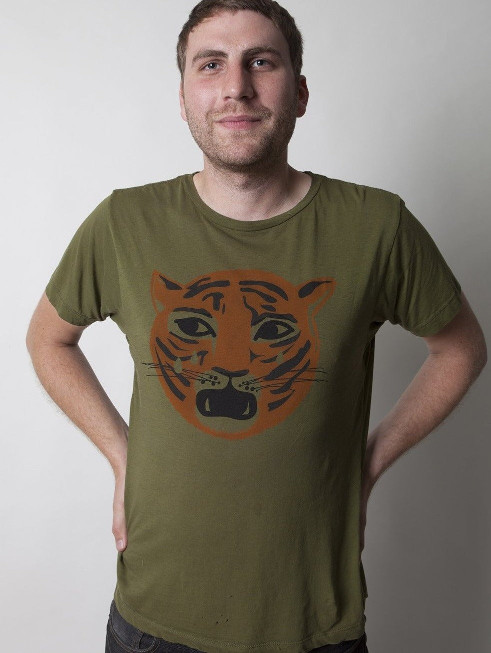 Green Crying Tiger Tee