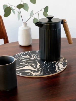 Marbled Wood Trivet