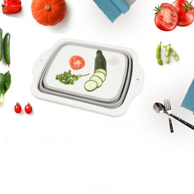 Plastic Multifunctional Folding Cutting Board - DealZen