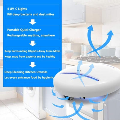 Smart Disinfecting Robot