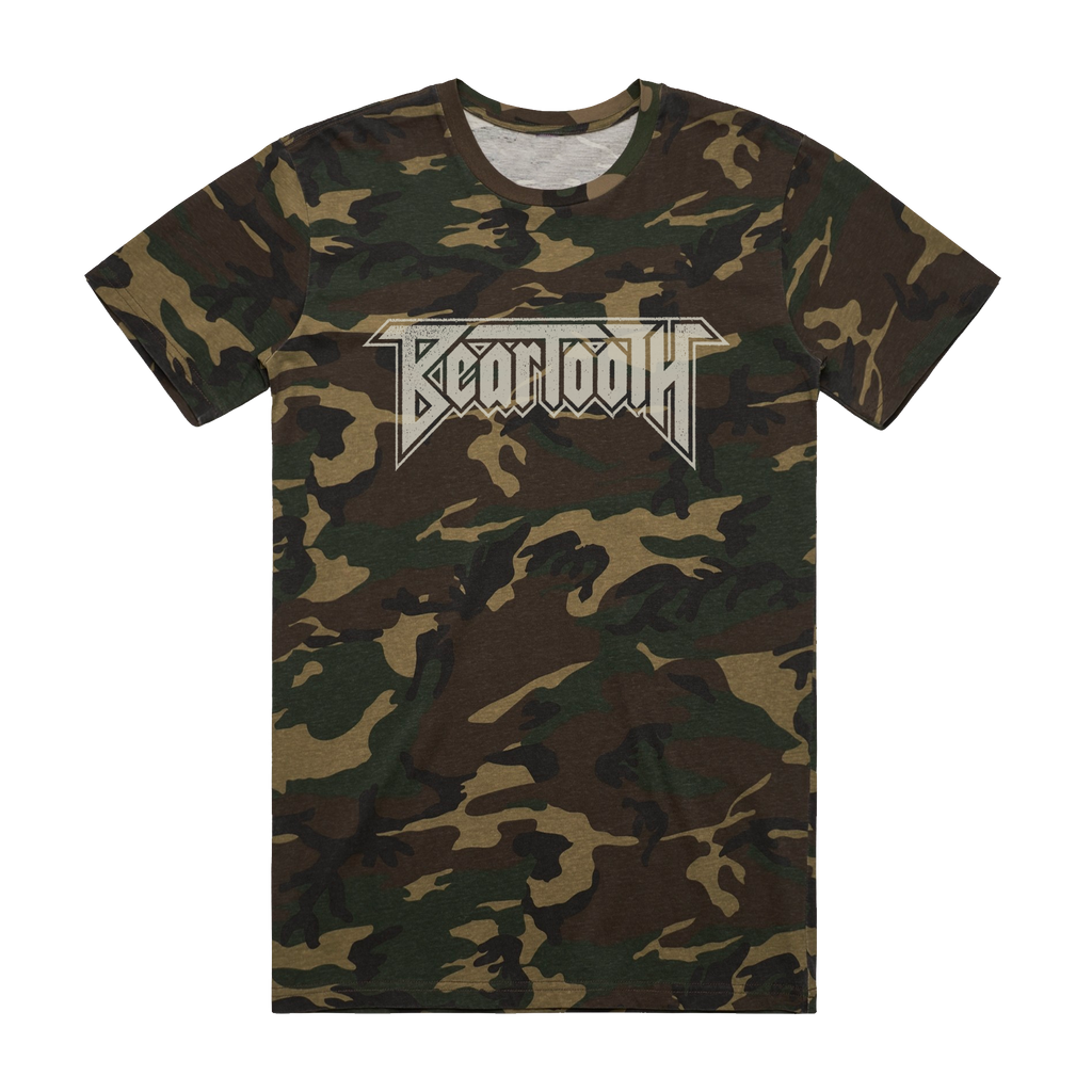 Beartooth - Logo T-Shirt (Camo)