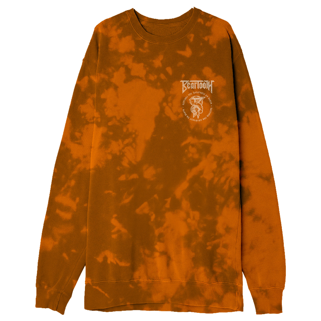 Beartooth - Greatness or Death Dyed Crewneck