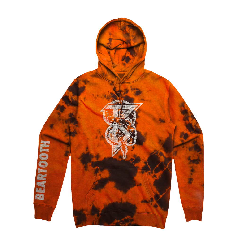 Beartooth - Snake B Hoodie (Tie Dyed) NOT SHIPPING UNTIL 12/21