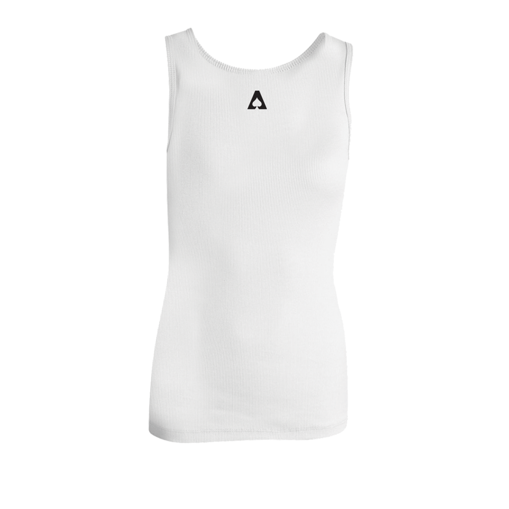 The Aces - Stay Ribbed Tank (Embroidered)