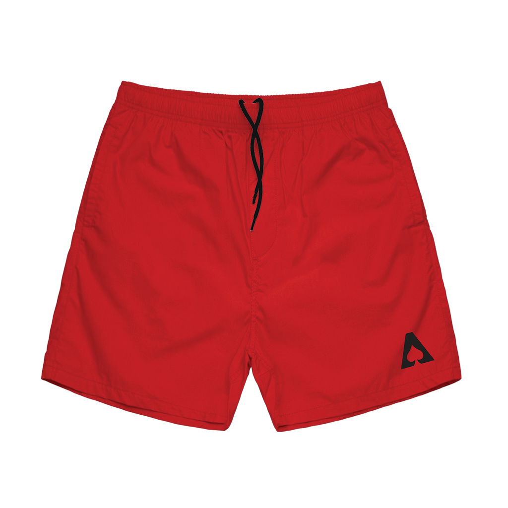 The Aces - Red Logo Shorts