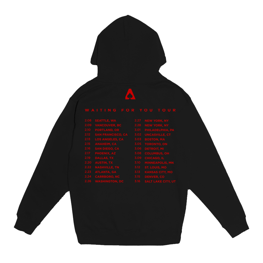 The Aces - Waiting For You Pullover Hoodie (Black)