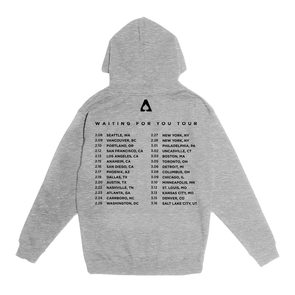 The Aces - Waiting For You Pullover Hoodie (Gray)