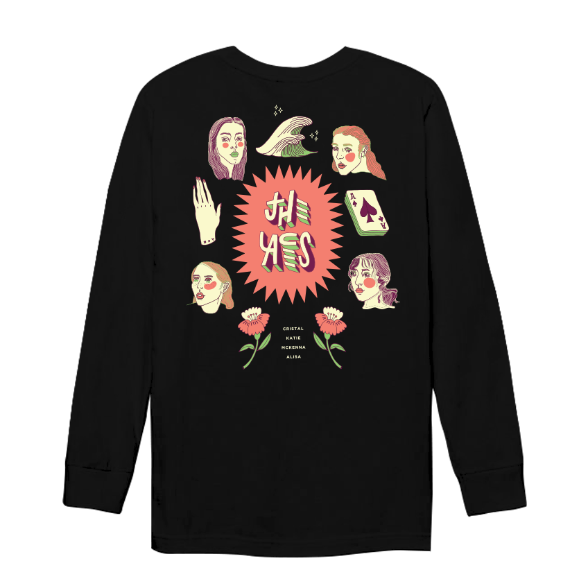 The Aces - Black Long Sleeve