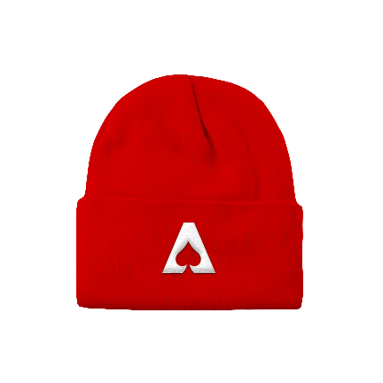 The Aces - Logo Beanie (Red)