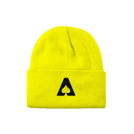 The Aces - Logo Beanie (Yellow)