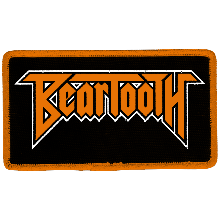 Beartooth - Logo Embroidered Patch