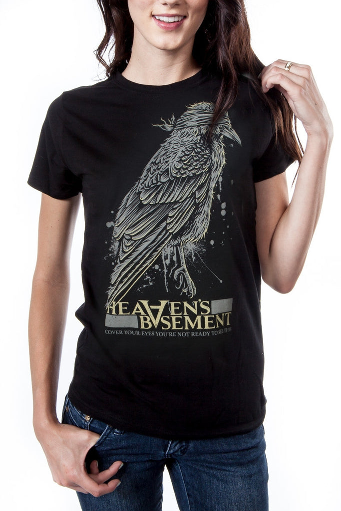 Heaven's Basement Blind Crow T-Shirt (Women's)