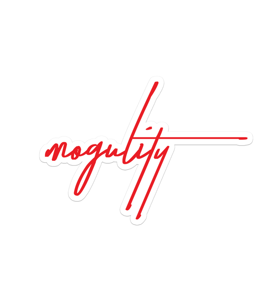 The Aces - Mogulity Sticker