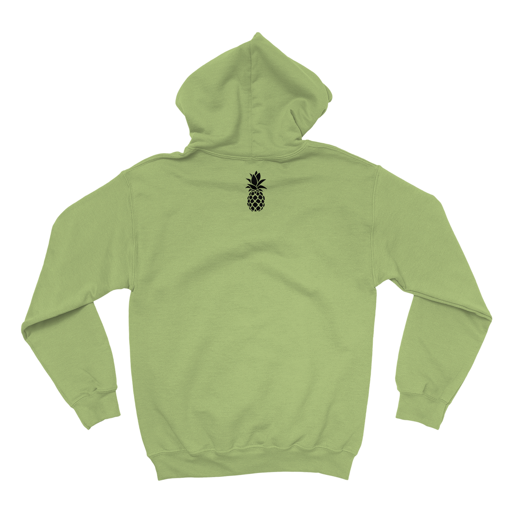 pineappleCITI - Winter Hoodie - Green