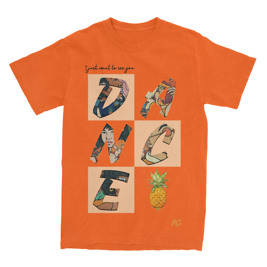 pineappleCITI - Dance Tee - Orange