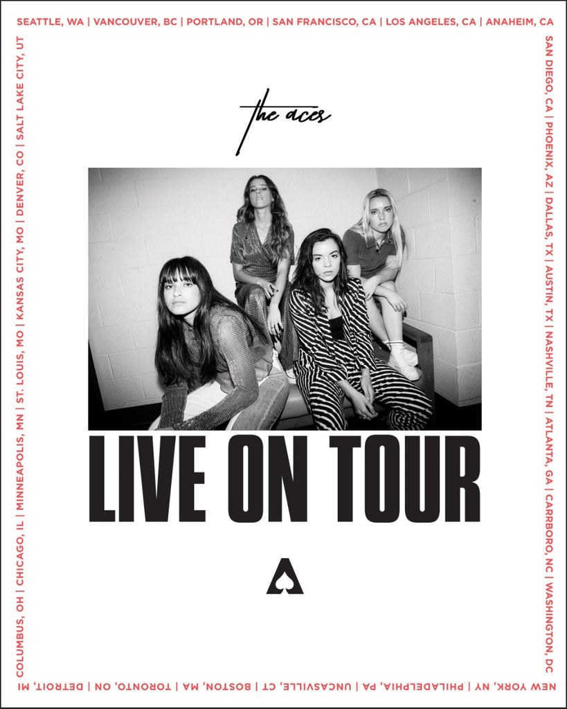 The Aces - Waiting For You Tour 16x20 Inch Poster