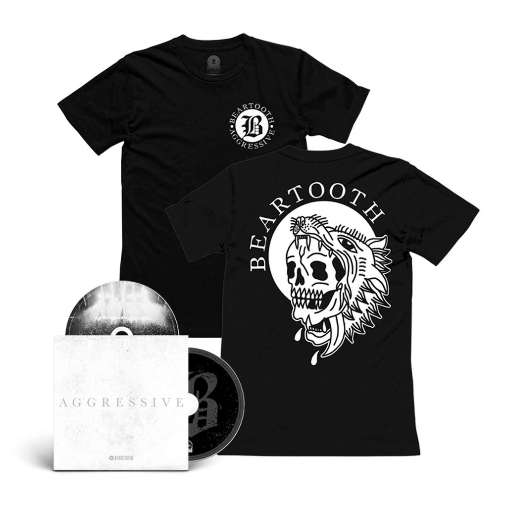 Aggressive (Deluxe Edition) CD/DVD & T-Shirt Bundle