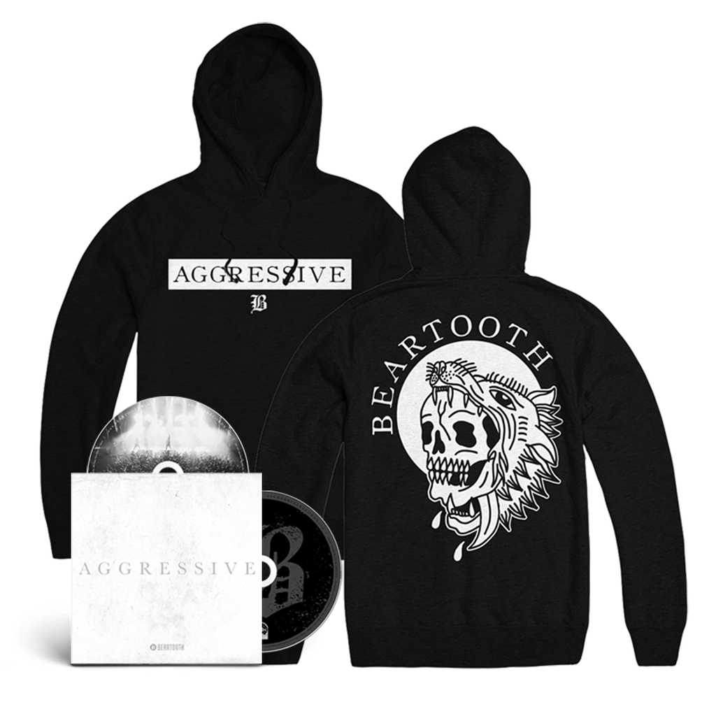 Aggressive (Deluxe Edition) CD/DVD & Hoodie Bundle