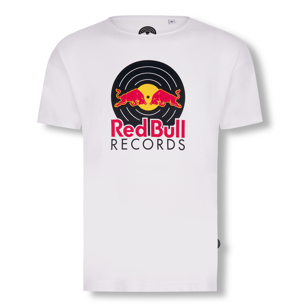 Red Bull Records - Tricolor Logo Shirt