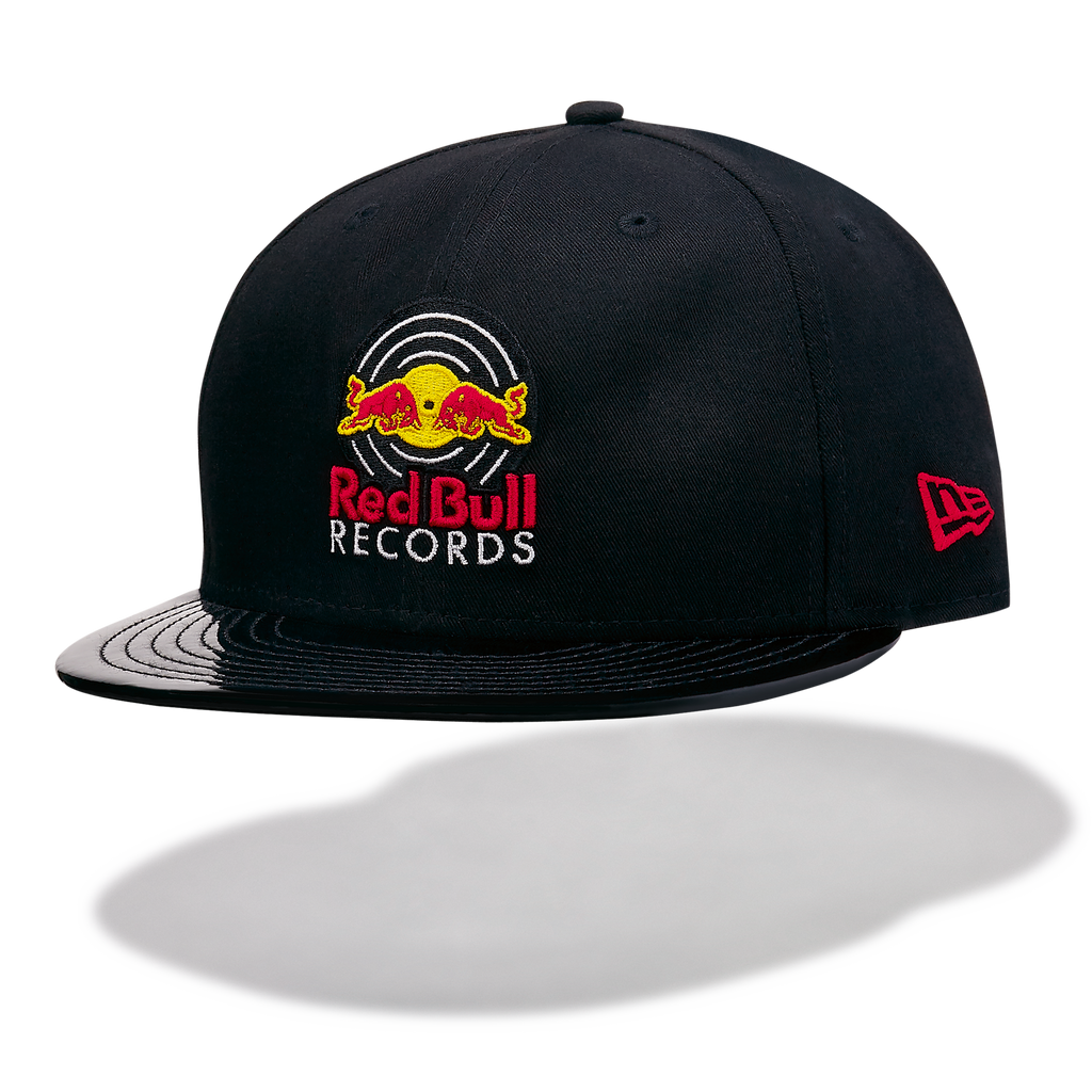 Red Bull Records - New Era 9Fifty Vinyl Flat Cap