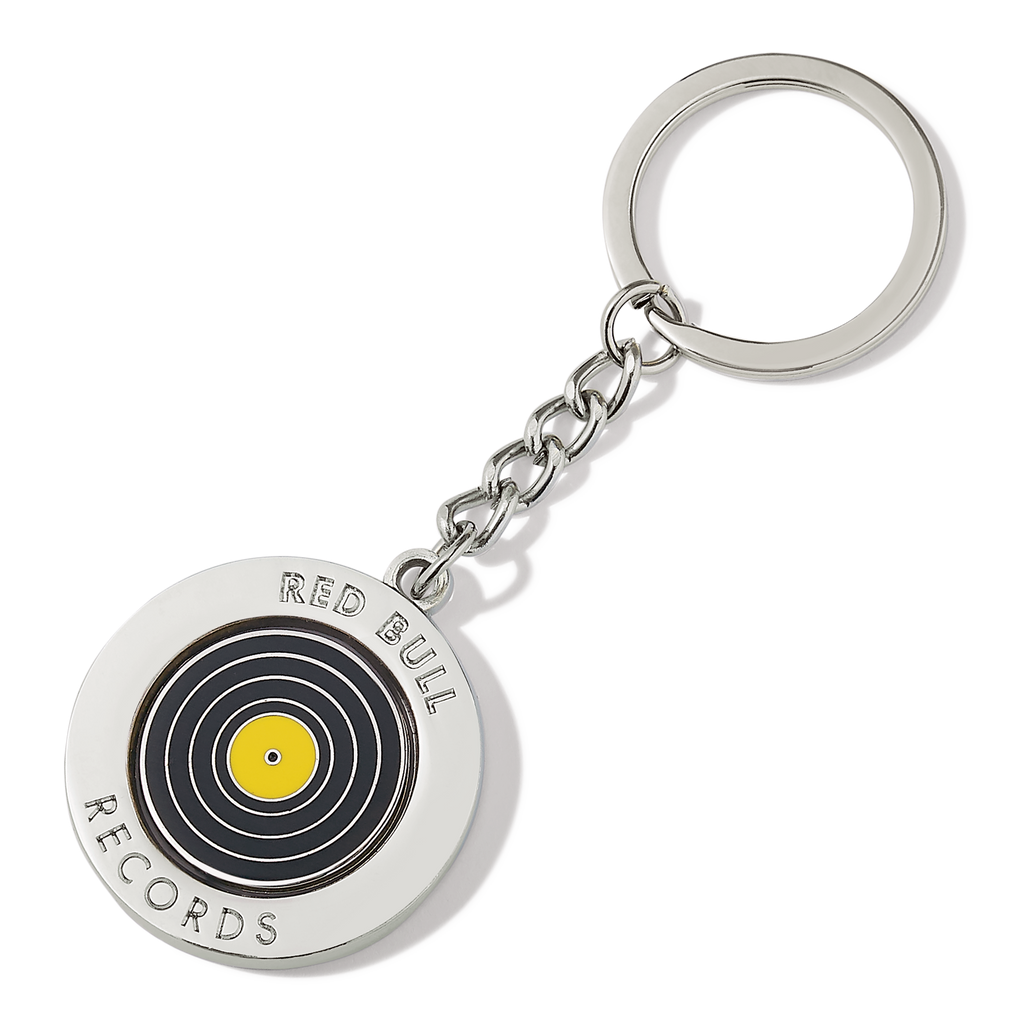 Red Bull Records - Spinning Keychain
