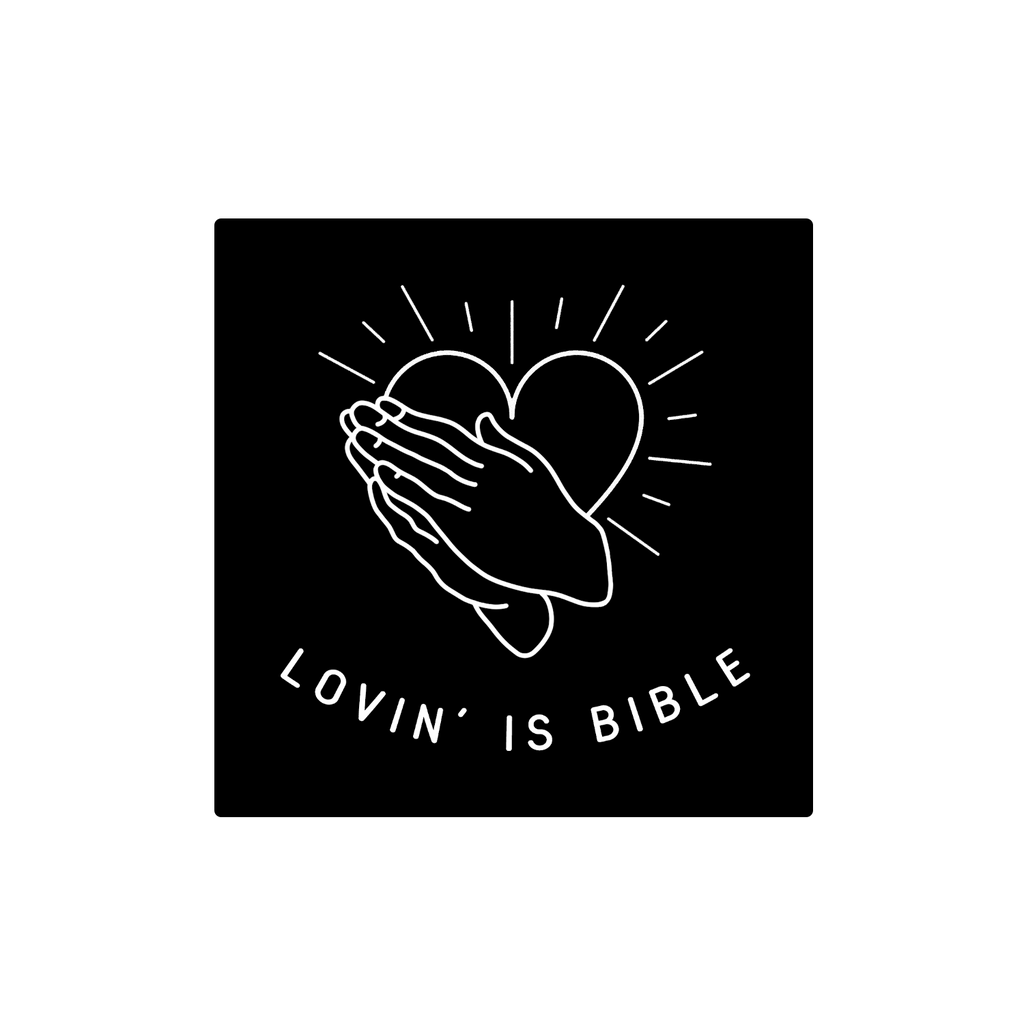 The Aces - Lovin' is Bible Sticker